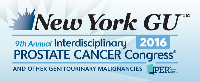 New York GU™: 9th Annual Interdisciplinary Prostate Cancer Congress® and other Genitourinary Malignancies