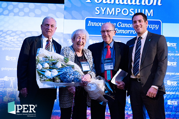 Edward Ambinder, MD; Jaclyn Silverman; Franco Muggia, MD; Phil Talamo