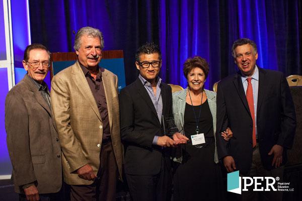Addario Foundation Award recipient Dr. Tony Mok with International Lung Cancer Congress® program directors and the Addarios
