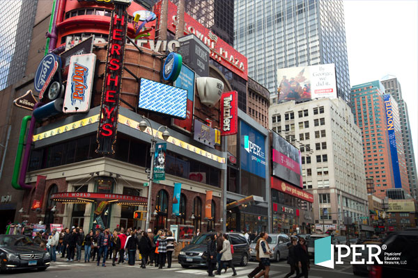 PER® is headlining Times Square!