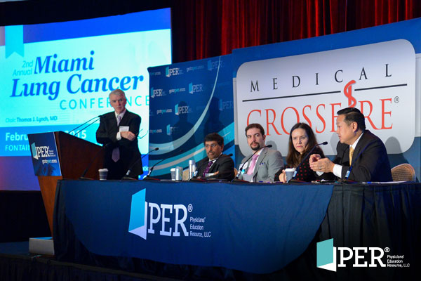 Thomas J. Lynch, Jr., MD; Sujal Shah, MD; Daniel B. Costa, MD, PhD, MMSc; Heather A. Wakelee, MD; Edward S. Kim, MD